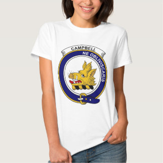 Campbell Clan Badge T Shirt
