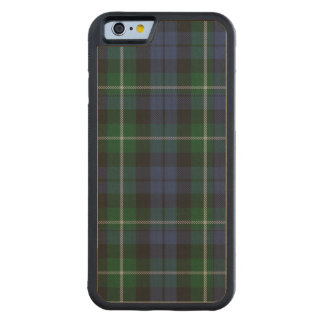 Campbell Clan Plaid Pattern Wooden iPhone 6 Case Carved® Maple iPhone 6 Bumper Case