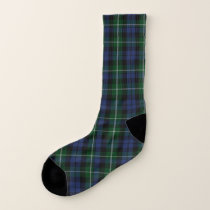 Campbell Clan Plaid Socks
