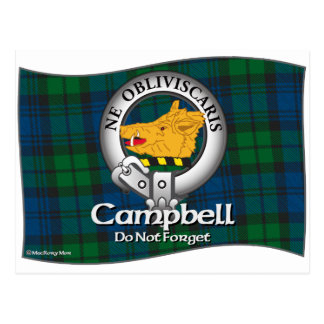 Campbell Clan Postcard