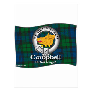 Campbell Clan Post Card