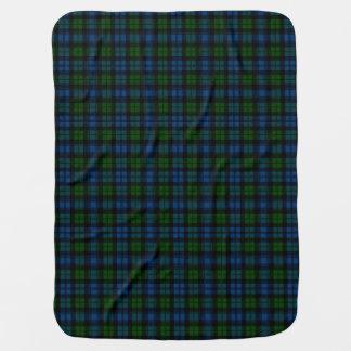 Campbell Clan Tartan Plaid Pattern Stroller Blanket