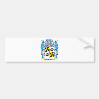 Campbell-- Coat of Arms - Family Crest Bumper Sticker