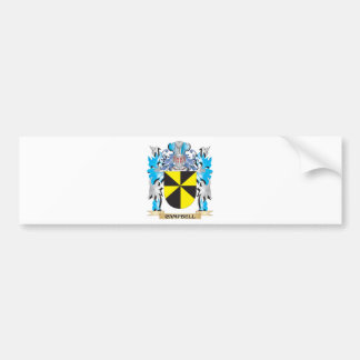 Campbell Coat of Arms - Family Crest Bumper Sticker