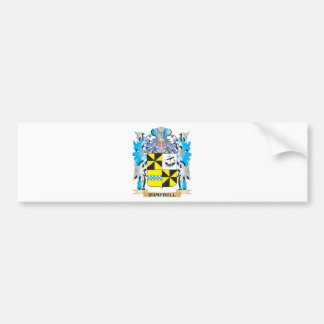 Campbell- Coat of Arms - Family Crest Bumper Sticker