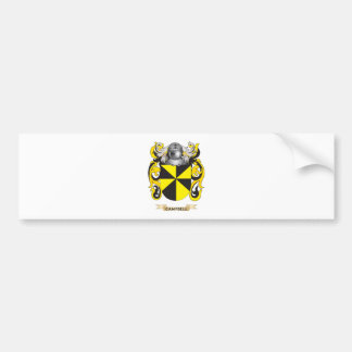 Campbell Coat of Arms (Family Crest) Bumper Stickers