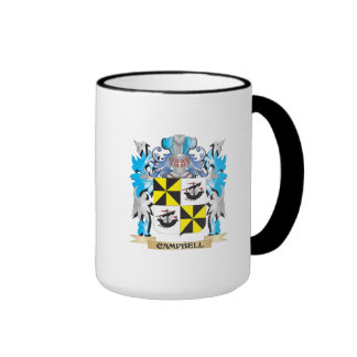 Campbell-- Coat of Arms - Family Crest Coffee Mugs