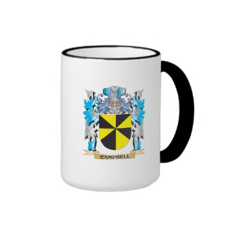 Campbell Coat of Arms - Family Crest Mugs