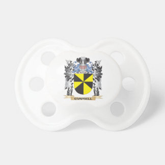 Campbell Coat of Arms - Family Crest Pacifier