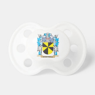 Campbell Coat of Arms - Family Crest Pacifiers