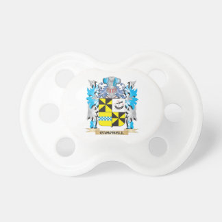 Campbell- Coat of Arms - Family Crest Baby Pacifiers