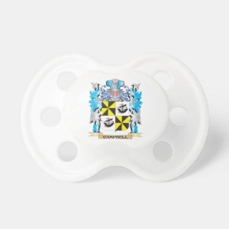 Campbell-- Coat of Arms - Family Crest Pacifier