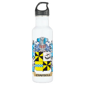 Campbell- Coat of Arms - Family Crest 24oz Water Bottle