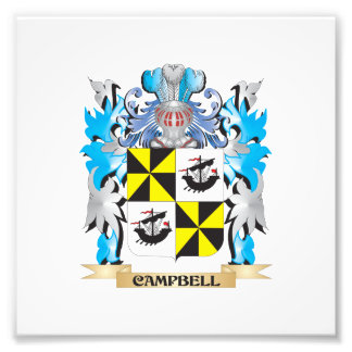 Campbell-- Coat of Arms - Family Crest Photograph