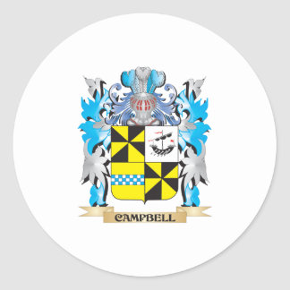 Campbell- Coat of Arms - Family Crest Sticker