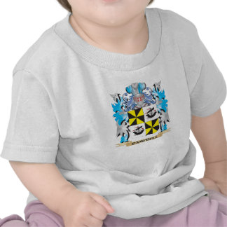 Campbell-- Coat of Arms - Family Crest Tee Shirts