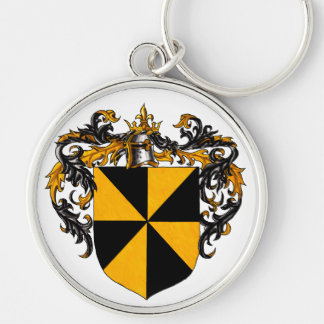 Campbell Coat of Arms Keychain