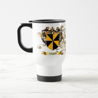 Campbell Coat of Arms Travel Mug