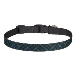 Campbell del tartán del clan de Argyll Collar De Perro