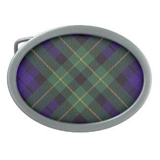 Campbell del tartán del escocés de Breadalbane Hebilla Cinturon