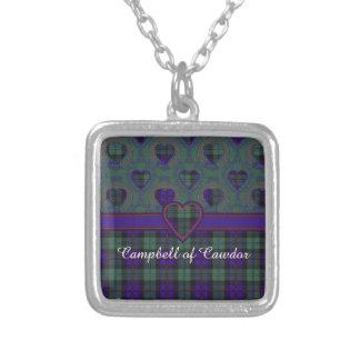 Campbell del tartán del escocés de la tela colgante cuadrado