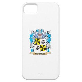 Campbell-- Escudo de armas - escudo de la familia iPhone 5 Fundas