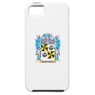 Campbell-- Escudo de armas - escudo de la familia iPhone 5 Protector