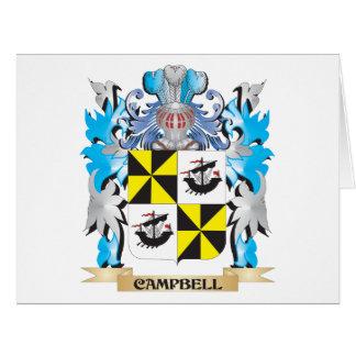 Campbell-- Escudo de armas - escudo de la familia Felicitacion