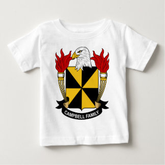 Campbell Family Coat of Arms Baby T-Shirt