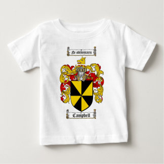 CAMPBELL FAMILY CREST -  CAMPBELL COAT OF ARMS BABY T-Shirt