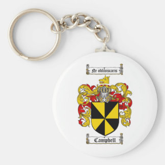 CAMPBELL FAMILY CREST -  CAMPBELL COAT OF ARMS KEYCHAIN