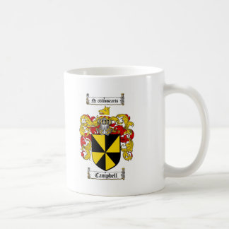 CAMPBELL FAMILY CREST - CAMPBELL COAT OF ARMS MUG