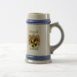 CAMPBELL FAMILY CREST -  CAMPBELL COAT OF ARMS COFFEE MUG