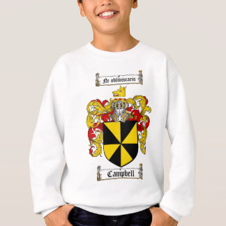 CAMPBELL FAMILY CREST -  CAMPBELL COAT OF ARMS SWEATSHIRT