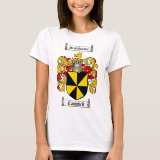 CAMPBELL FAMILY CREST -  CAMPBELL COAT OF ARMS T-Shirt