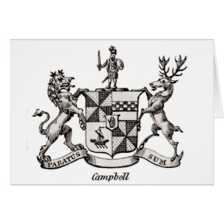 CAMPBELL FAMILY CREST CARD