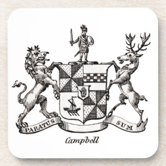 CAMPBELL FAMILY CREST COASTER