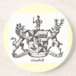 CAMPBELL FAMILY CREST COASTERS