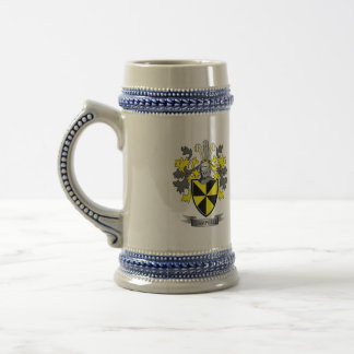 Campbell Family Crest Coat of Arms Beer Stein
