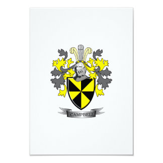 Campbell Family Crest Coat of Arms Card