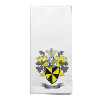 Campbell Family Crest Coat of Arms Cloth Napkin