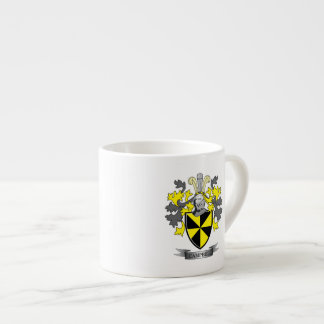 Campbell Family Crest Coat of Arms Espresso Cup