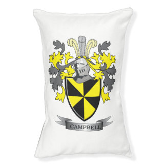 Campbell Family Crest Coat of Arms Pet Bed