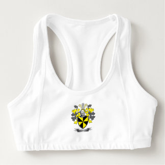 Campbell Family Crest Coat of Arms Sports Bra