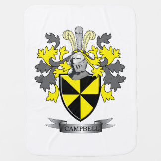 Campbell Family Crest Coat of Arms Stroller Blanket