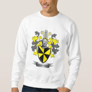 Campbell Family Crest Coat of Arms Sweatshirt