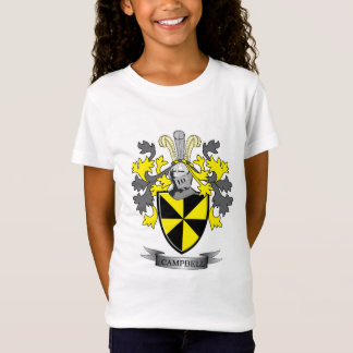 Campbell Family Crest Coat of Arms T-Shirt