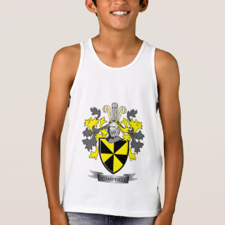 Campbell Family Crest Coat of Arms Tank Top