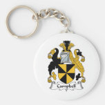 Campbell Family Crest Keychains
