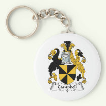Campbell Family Crest Keychain